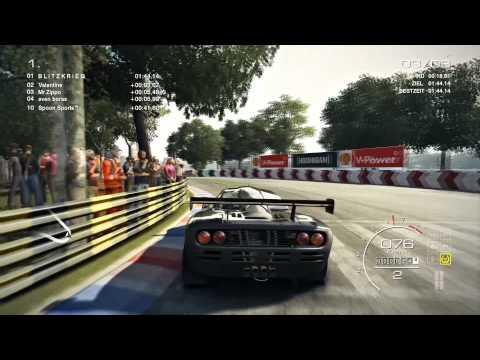 GRID Autosport ONLINE #46 - GT 1 - McLaren F1 GTR - Washington|Zeitfahren [Deutsch|1080p]