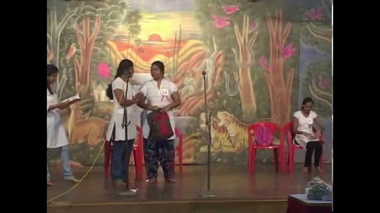 Skit on Cleanliness by Students of NISAA Teacher Training