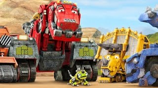 Dinosaurs , Digger, Trucks, Cranes and Excavator for children. Dinotrux Dreamworkstv apps for kids