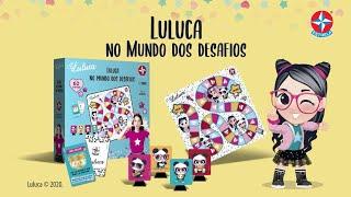 Jogo Luluca no Mundo dos Desafios | Brinquedos Estrela