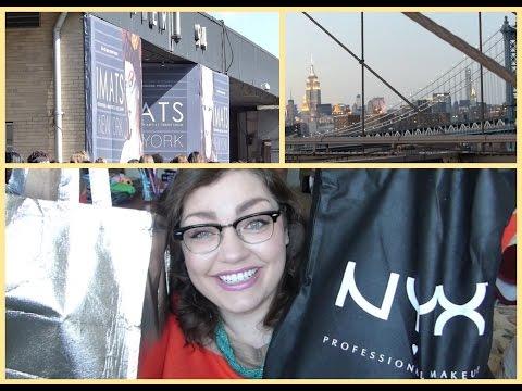 NYC + IMATS: Recap, Vlog, & Haul!