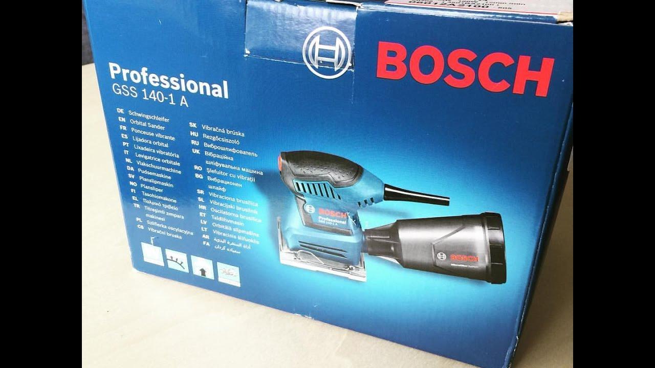Bosch Schwingschleifer GSS 140-1A Professional