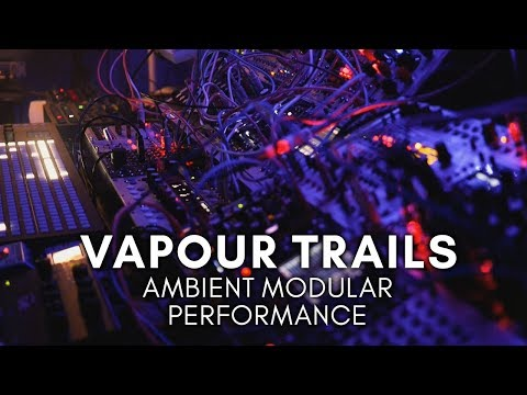 'Vapour Trails' Ambient Modular Performance (Vector, E370, Morphagene, Sample Drum) thumbnail