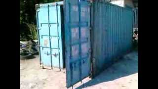 видео контейнер 20 футов