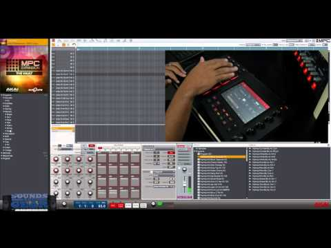 Akai MPC Touch: The Vault Expansion Demo - SoundsAndGear.com