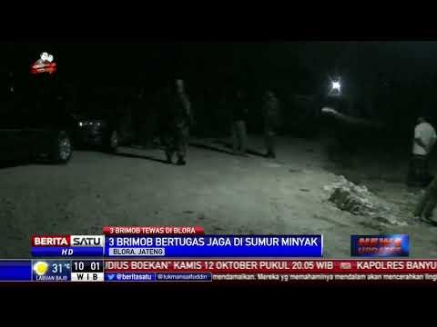 3 Personel Brimob Tewas dalam Baku Tembak