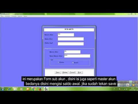 Membuat Aplikasi Akuntansi Dengan Visual Basic 6.0