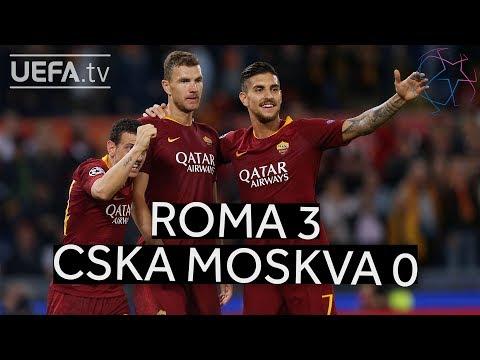 ROMA 3-0 CSKA MOSKVA #UCL HIGHLIGHTS