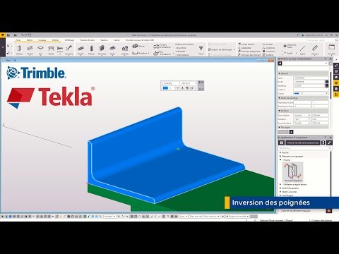 Astuce Tekla Structures : Inverser poignées