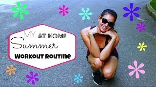 Summer AT HOME Workout Routine ♡ 50 VoSummer Thumbnail