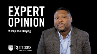 Expert Opinions: Oscar Holmes IV on Workplace Bullying