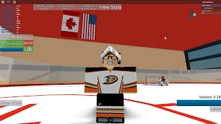 Calgary Flames vs Chicago Blackhawks (ROBLOX HHCL Tourny)