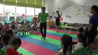 Môn học kỹ năng sống - Thầy Tùng Văn - Trường mầm non Funny Kids