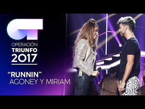'Runnin' - Miriam y Agoney | Gala 1 | OT 2017