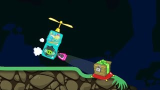 Bad Piggies - FINDING CRATE WITH ALIEN INVENTIONS! GET IT IN MOUNTAIN PEEK!