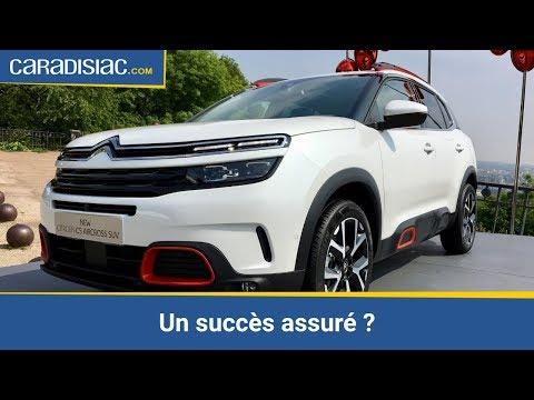 Présentation - Citroën C5 Aircross, nouveau fer de lance de la marque aux chevrons