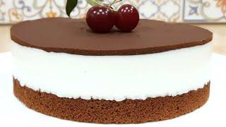 ТВОРОЖНЫЙ торт суфле с шоколадом легкий простой и вкусный