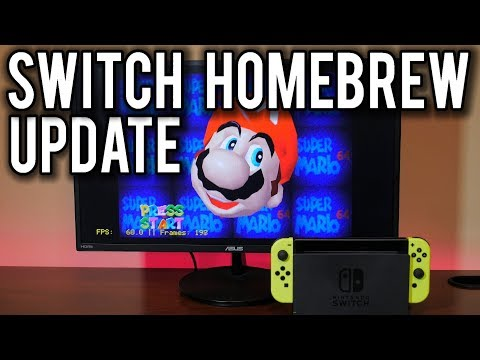 Homebrew on the Nintendo Switch goes NEXT LEVEL  MVG