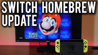 Homebrew on the Nintendo Switch goes NEXT LEVEL | MVG