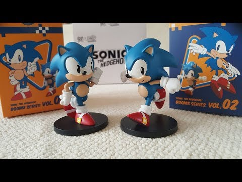 Sonic The Hedgehog Boom8 Figures Unboxing Review Youtube