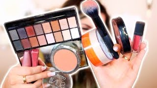 THE BEST DRUGSTORE MAKEUP & BRUSHES! | Casey Holmes