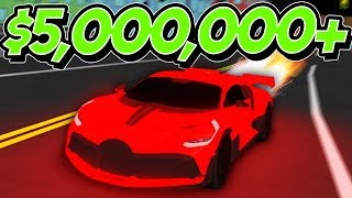 I Got The Rarest & Most Expensive Car in The Game! (Full-Throttle Roblox)