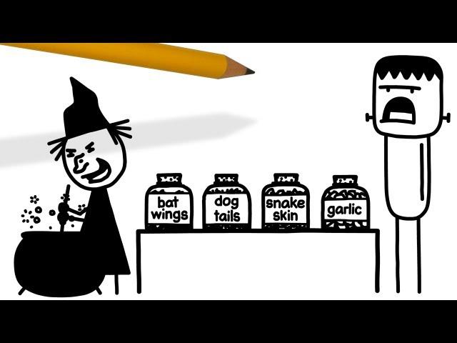 Tricky Treat   Pencilmation Cartoon #29