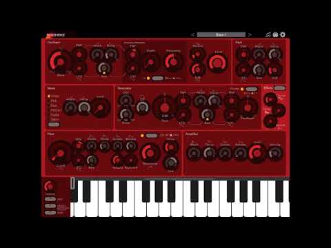 Redshrike Synth AUv3 - How does it sound?