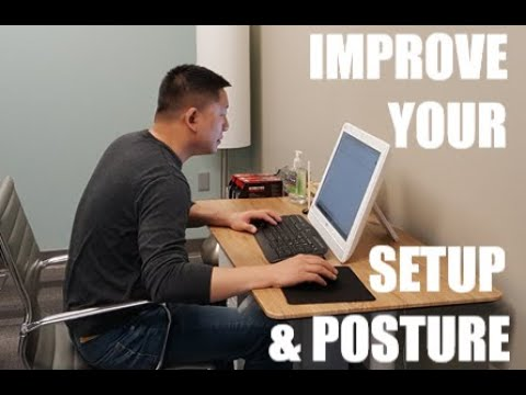Improve Your Home Computer Workstation & Posture