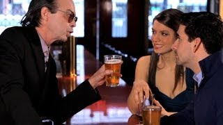 How to Win a Beer Drinking Bet | Bar Tricks