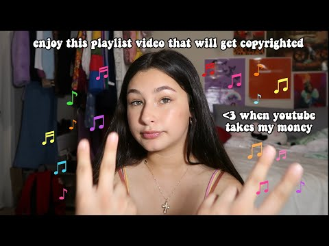 THE MUSIC I LISTEN TO AT SCHOOL EVERYDAY (playlist Vid) 2019