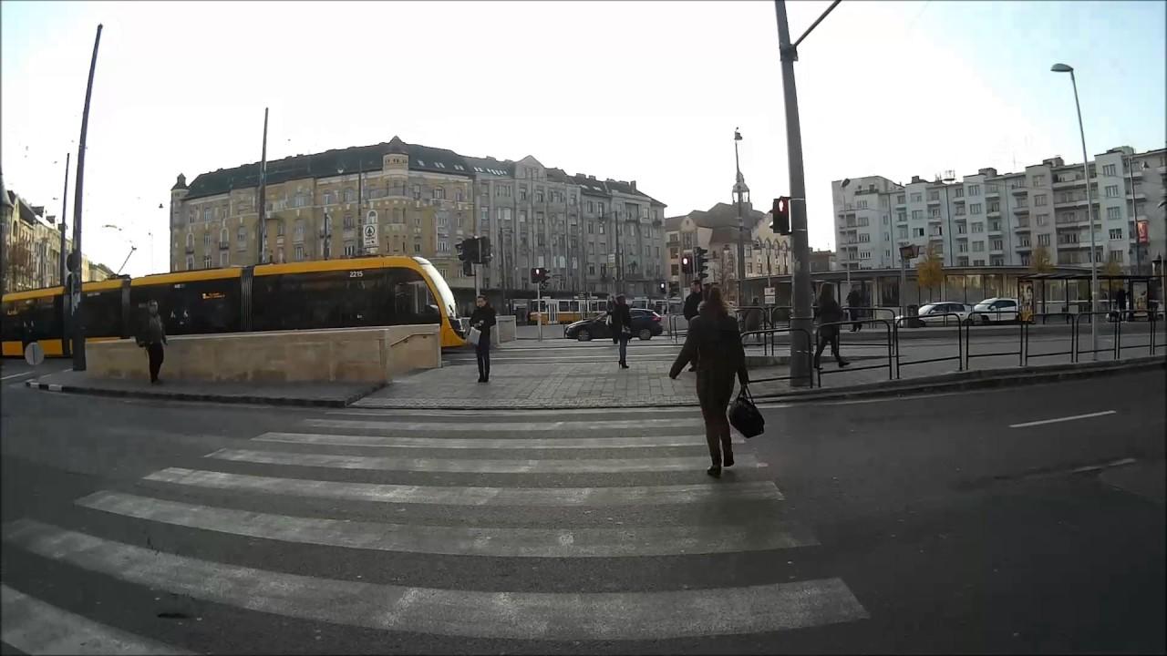 Budapest 61 Es VillamosMricz Zsigmond Krtr M Alkots T Hvsvlgytram Line Nr61