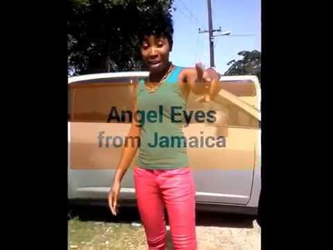 Angel Eyes from Jamaica shout out for Dj Solid