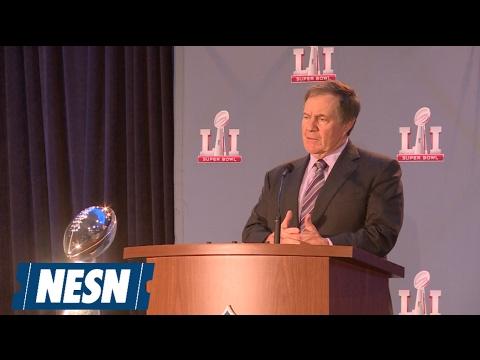 Bill Belichick Super Bowl LI Winning Coach's Press Conference