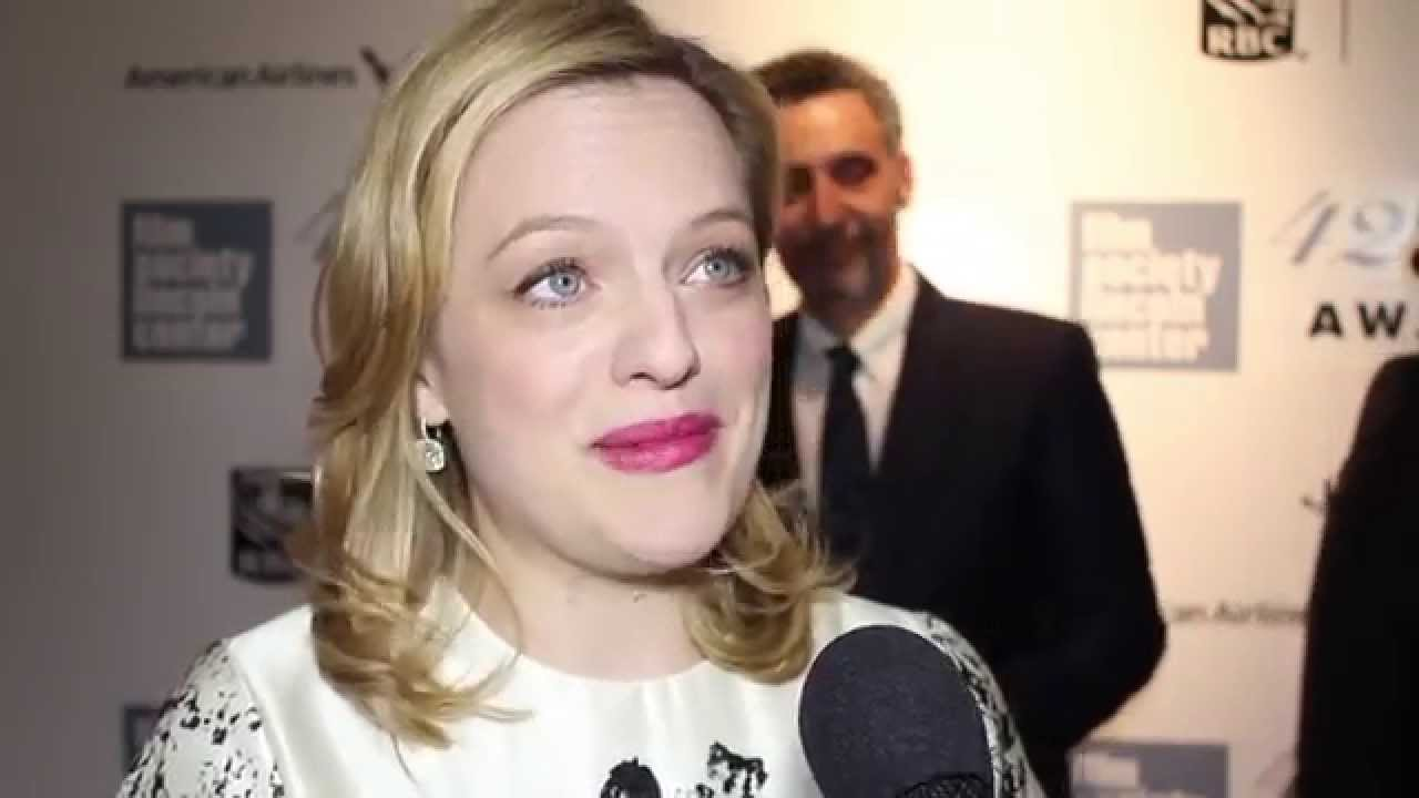 Elisabeth Moss on The Chaplin Award Gala Red Carpet