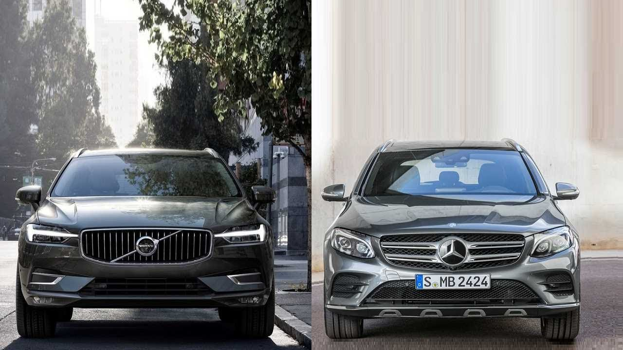 2018 Volvo XC60 vs 2016 Mercedes-benz GLC - YouTube