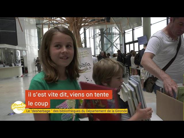 Gironde mag' - Desherbage livres