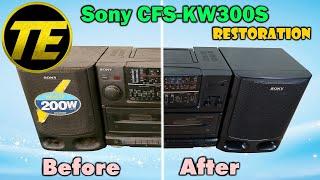 Sony CFS-KW300S Restoration