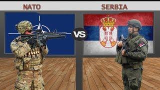 NATO VS SERBIA Military Power Comparison 2018