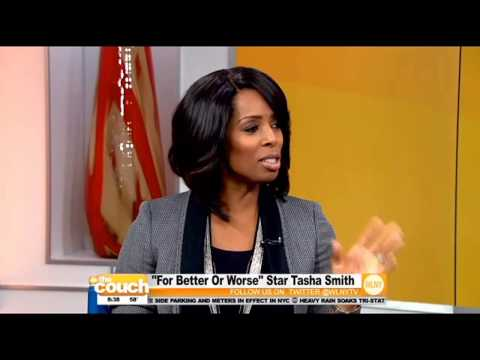 """For Better Or Worse"" Star Tasha Smith On The Couch"