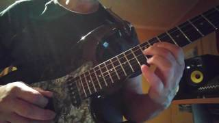 Non Brewed Condiment cover Allan Holdsworth on a Blade R3 guitar.