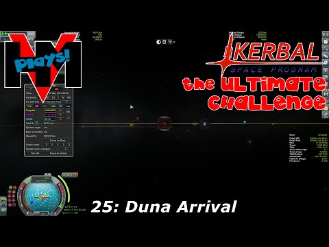 HMV Plays KSP on Twitch: TUC 25: Duna Arrival