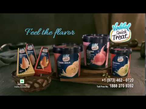 Vadilal Quick Treat Kulfi Ice Cream Vadilal Group Youtube