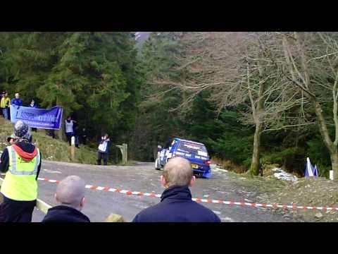 Malcolm Wilson Rally 2010 SS1 HOBCARTON