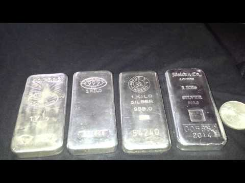 J.P Morgan Physical Silver, 1kg Bullion Bars, Short Financia