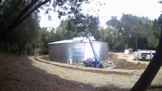 National Storage Tank - Time Lapsed Water Tank Construction
