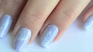 Nail art dentellé de printemps Thumbnail