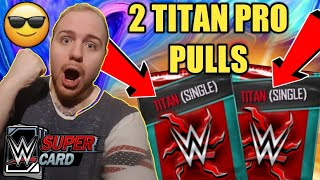 TITAN PACK OPENINGS FROM BP STORE ROAD TO GLORY TALK MORE Noology WWE SuperCard Season 4