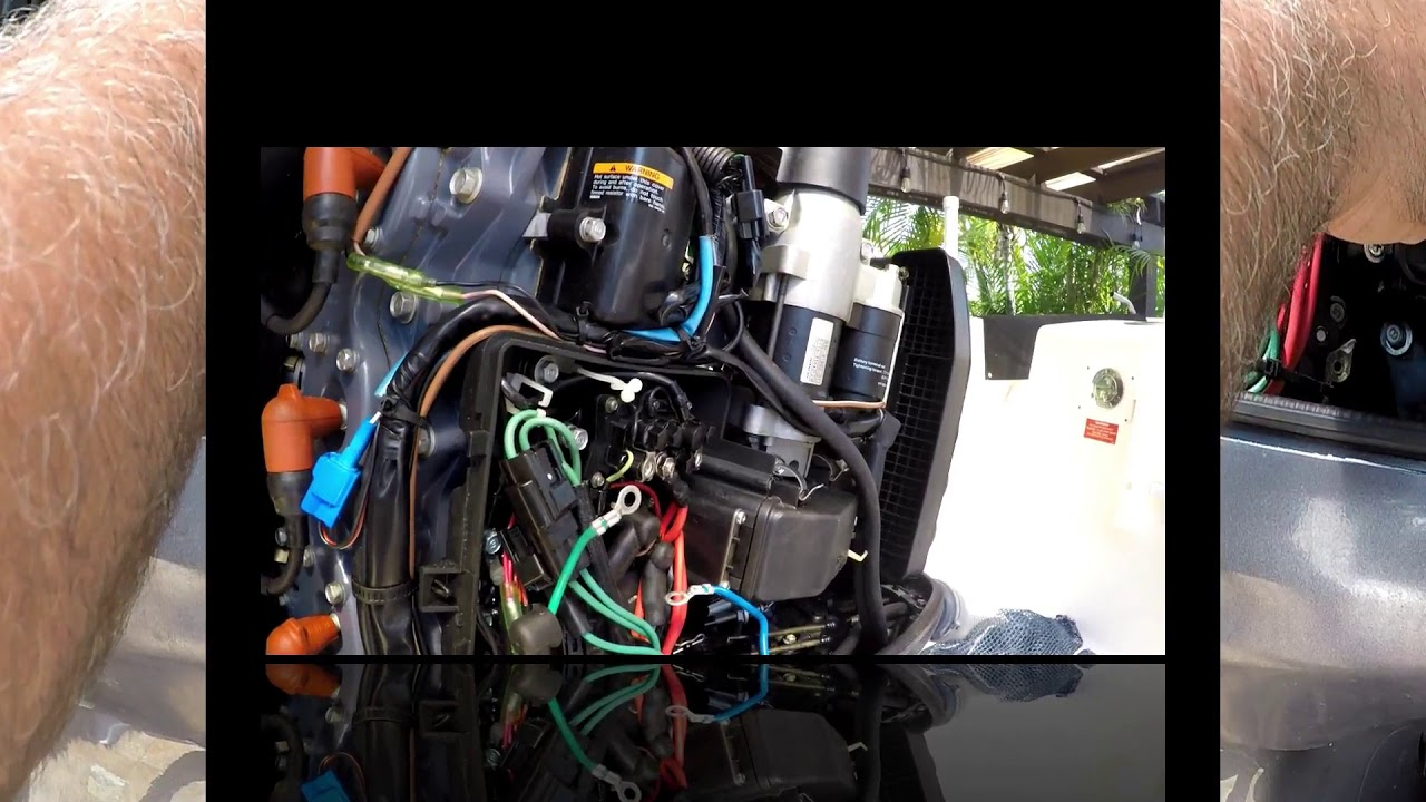 Yamaha Tilt Trim Relay Troubleshoot And Removal Diy