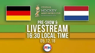 Germany v Netherlands | 2018 Men's Hockey World Cup | FULL MATCH LIVESTREAM